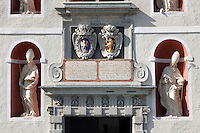 Main Entrance of Forchtenstein Castle,  Forchtenstein, Burgenland, Austria