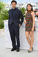 CANNES, FRANCE. July 12, 2021: Laetitia Casta & Louis Garrel at the photocall for The Crusade at the 74th Festival de Cannes.<br /> Picture: Paul Smith / Featureflash