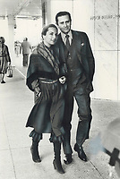1979 FILE PHOTO - ARCHIVES -<br /> <br /> Count and Countess d'Ornano stroll on Bloor St.<br /> Bezant, Graham<br /> Picture, 1979,<br /> <br /> 1979,<br /> <br /> PHOTO : Graham Bezant - Toronto Star Archives - AQP