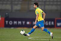 13th October 2020; National Stadium of Peru, Lima, Peru; FIFA World Cup 2022 qualifying; Peru versus Brazil;  Rodrigo Caio of Brazil