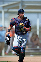 Minnesota Twins Joe Maloney (15) during a minor league Spring Training game against the Baltimore Orioles on March 16, 2016 at CenturyLink Sports Complex in Fort Myers, Florida.  (Mike Janes/Four Seam Images)