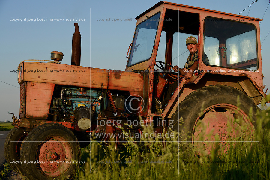 ROMANIA Banat, UTB tractor / RUMAENIEN Banat, UTB Traktor