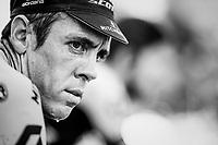Team Mitchelton-Scott warming up ahead of the race<br /> <br /> Stage 19: Lourdes > Laruns (200km)<br /> <br /> 105th Tour de France 2018<br /> ©kramon