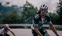 Daniël Oss (ITA/Bora Hansgrohe)<br /> <br /> Stage 5: Gstaad > Leukerbad (155km)<br /> 82nd Tour de Suisse 2018 (2.UWT)
