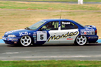 British Touring Car Championship. #5 Andy Rouse (GBR). Team Mondeo. Ford Mondeo Si.