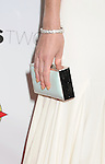 HOLLYWOOD, CA - AUGUST 23: Lizzy Caplan (handbag, diamond bracelet detail) at the Los Angeles premiere of 'Bachelorette' at the Arclight Hollywood on August 23, 2012 in Hollywood, California. /NortePhoto.com.... **CREDITO*OBLIGATORIO** *No*Venta*A*Terceros*..*No*Sale*So*third* ***No*Se*Permite*Hacer Archivo***No*Sale*So*third*