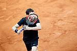 Grigor Dimitrov, Bulgaria, during Madrid Open Tennis 2017 match. May 11, 2017.(ALTERPHOTOS/Acero)