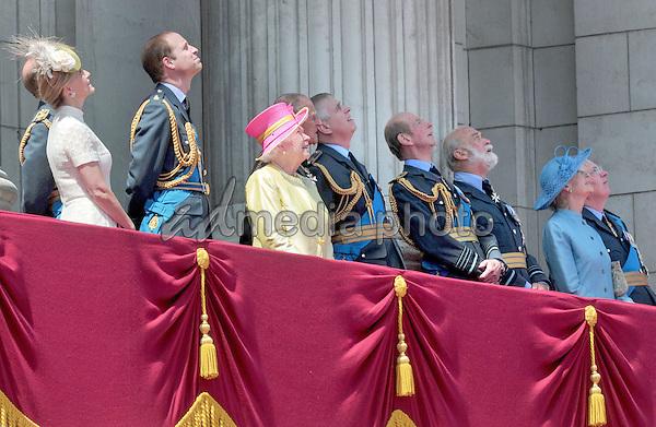 10 July 2015 - London, England - 75th anniversary of the Battle of Britain. Photo Credit: Alpha Press/AdMedia