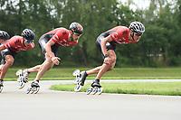 INLINESKATEN WOLVEGA / HEERENVEEN, 2020, Bart Swings, Jan Blokhuijsen, ©fotografie Martin de Jong