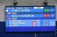 SPEEDSKATING: Calgary, The Olympic Oval, 08-02-2020, ISU World Cup Speed Skating, 500m Ladies Division B, Femke Kok (NED), ©foto Martin de Jong