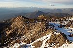 Ridge, Kaiser Peak, Kaiser Wilderness Area, Sierra Nevada, California