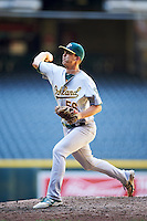Oakland Athletics pitcher Tyler Willman (56) during an Instructional League game against the Arizona Diamondbacks on October 15, 2016 at Chase Field in Phoenix, Arizona.  (Mike Janes/Four Seam Images)