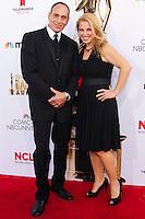 PASADENA, CA, USA - OCTOBER 10: Nestor Serrano, Debbie Ross arrive at the 2014 NCLR ALMA Awards held at the Pasadena Civic Auditorium on October 10, 2014 in Pasadena, California, United States. (Photo by Celebrity Monitor)