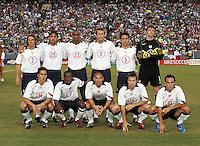 USA team, USA v Mexico, 2004.