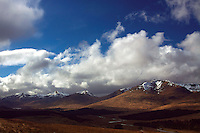 The Glen Etive Mountains from Mam Carraigh on the West Highland Way, Bridge of Orchy, Argyll & Bute