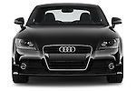 Straight front view of a 2011 - 2014 Audi TT S line 3 Door Coupe 4WD