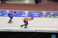 SPEEDSKATING: 13-02-2020, Utah Olympic Oval, ISU World Single Distances Speed Skating Championship, 5000m Men, Sverre Lunde Pedersen (NOR), Jorrit Bergsma (NED), ©Martin de Jong