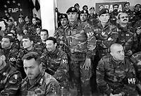 - operation Alba of  Italian Armed Forces after the civil war of spring 1997, soldiers in their barracks atTirana....- operazione Alba delle forze armate italiane dopo la guerra civile della primavera 1997, militari in caserma a Tirana