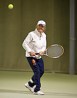 March 5, 2015, Netherlands, Hilversum, Tulip Tennis Center, NOVK, Final Lady's 80+ , winner Bea Nerden (NED)<br /> Photo: Tennisimages/Henk Koster