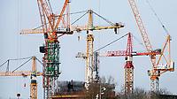 Nederland  Amsterdam - 2021.   Amsterdam Noord. Nieuwbouw.    Foto Berlinda van Dam / HH / ANP.
