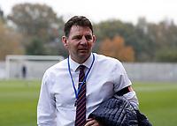 8th November 2020; SkyEx Community Stadium, London, England; Football Association Cup, Hayes and Yeading United versus Carlisle United; Carlisle United manager Chris Beech