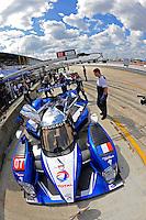 #07 (P1) Team Peugot Total 908 HDI/FAP, Marc Gene, Alexander Werz & Anthony Davidson