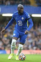 Romelu Lukaku of Chelsea in action during Chelsea vs Southampton, Premier League Football at Stamford Bridge on 2nd October 2021