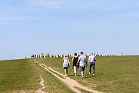 Steinsetzung Ales Stenar bei Kåseberga, Provinz Skåne (Schonen), Schweden, Europa<br /> stone setting Ales Stenar near Kåseberga, province Skåne, Sweden