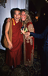 MARTA MARZOTTO<br /> COCKTAIL PARTY IN ONORE DI GORBACIOV - HOTEL BAGLIONI ROMA 11-2000