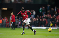 Paul Pogba of Man Utd warms up pre match during the Premier League match between Watford and Manchester United at Vicarage Road, Watford, England on 22 December 2019. Photo by Andy Rowland.