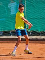 Netherlands, Dordrecht, August 03, 2015, Tennis,  National Junior Championships, NJK, TV Dash 35, Jay Zwinkels<br /> Photo: Tennisimages/Henk Koster