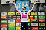 Stefan Bissegger (SUI) EF Education-Nippo wins Stage 3 and also takes over the young riders White Jersey of Paris-Nice 2021, an individual time trial running 14.4km around Gien, France. 9th March 2021.<br /> Picture: ASO/Fabien Boukla | Cyclefile<br /> <br /> All photos usage must carry mandatory copyright credit (© Cyclefile | ASO/Fabien Boukla)