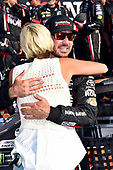 Monster Energy NASCAR Cup Series<br /> I LOVE NEW YORK 355 at The Glen<br /> Watkins Glen International, Watkins Glen, NY USA<br /> Sunday 6 August 2017<br /> Martin Truex Jr and Sherry Pollex, Furniture Row Racing, Furniture Row/Denver Mattress Toyota Camry celebrate in victory lane <br /> World Copyright: Rusty Jarrett<br /> LAT Images