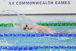 Glasgow 2014 Commonwealth Games<br /> Women's 100m Freestyle heats<br /> Mari Davies (Wales)<br /> Tollcross Swimming Centre<br /> 27.07.14<br /> ©Steve Pope-SPORTINGWALES