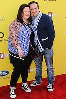 SANTA MONICA, CA, USA - NOVEMBER 16: Melissa McCarthy, Ben Falcone arrives at the P.S. ARTS Express Yourself 2014 held at The Barker Hanger on November 16, 2014 in Santa Monica, California, United States. (Photo by Celebrity Monitor)