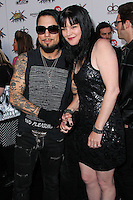 LOS ANGELES, CA, USA - APRIL 23: Dave Navarro, Pauley Perrette at the 2014 Revolver Golden Gods Award Show held at Club Nokia on April 23, 2014 in Los Angeles, California, United States. (Photo by Xavier Collin/Celebrity Monitor)