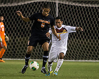 The Winthrop University Eagles lose 2-1 in a Big South contest against the Campbell University Camels.  Ricki Gaez (8), C.J. Miller (5)