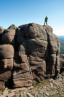 The summit tor of Beinn Mheadhoin, Cairngorm National Park, Badenoch & Speyside