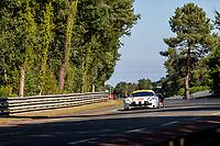 #55 Spirit of Race Ferrari 488 GTE EVO LMGTE Am, Duncan Cameron, David Perel, Matthew Griffin, 24 Hours of Le Mans , Test Day, Circuit des 24 Heures, Le Mans, Pays da Loire, France