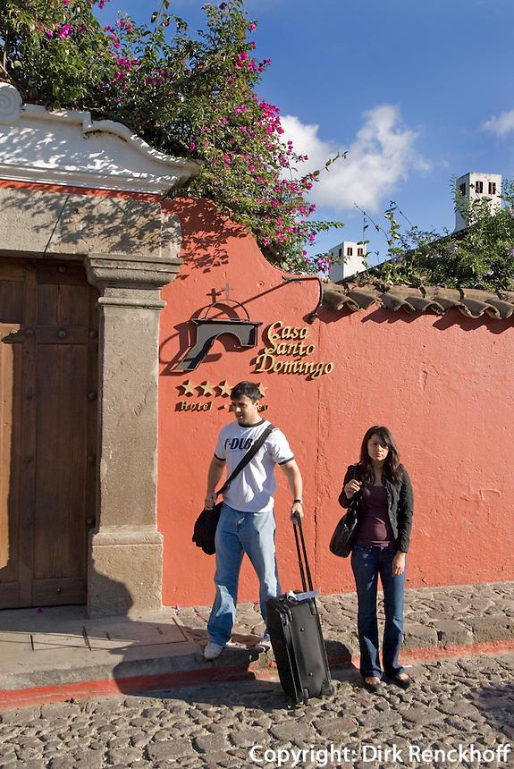 Guatemala, Hotel Casa Santo Domingo in Antigua, Unesco-Weltkulturerbe