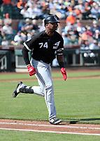 Eloy Jimenez - Chicago White Sox 2019 spring training (Bill Mitchell)