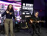 Alessia Cara Grammy Award winner singer/writer performance at Elvis Duran's Taste of New York Pier 97 NYC