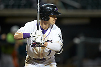 Zach Remillard (7) of the Winston-Salem Dash at bat against the Lynchburg Hillcats at BB&T Ballpark on May 1, 2018 in Winston-Salem, North Carolina. The Dash defeated the Hillcats 9-0. (Brian Westerholt/Four Seam Images)
