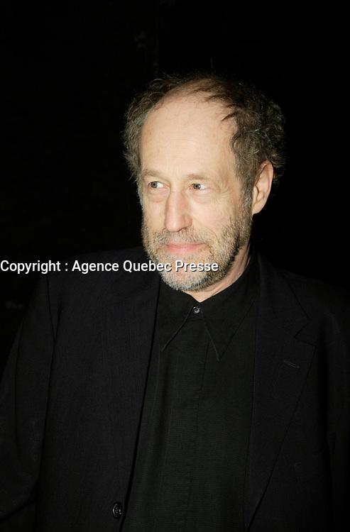 Montreal (Qc) CANADA - March 29 2009 - Jutras award  Gala (for Quebec Cinema) :  Gabriel Arcand
