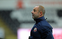 Pictured: Barnsley manager Keith Hill. Tuesday 28 August 2012<br /> Re: Capital One Cup game, Swansea City FC v Barnsley at the Liberty Stadium, south Wales.
