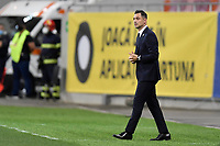 4th September 2020, Bucharest, Romania;  Romania versus Northern Ireland - UEFA Nations League B Mirel Radoi coach of Romania in action during the UEFA Nations League