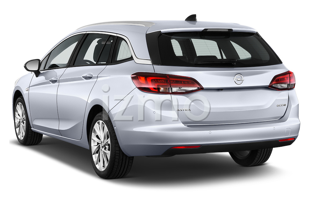Car pictures of rear three quarter view of 2016 Opel Astra Innovation 5 Door Wagon Angular Rear