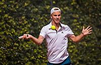 Hilversum, Netherlands, August 9, 2017, National Junior Championships, NJK, denton of visser<br /> Photo: Tennisimages/Henk Koster