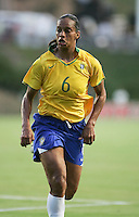 Rosana. USA defeated Brazil 1-0, Torero Stadium, San Diego, California, July 16, 2008.