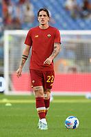 3rd October 2021; Stadio Olimpico, Rome, Italy; Serie A football, AS Roma versus Empoli; Nicolo Zaniolo of As Roma